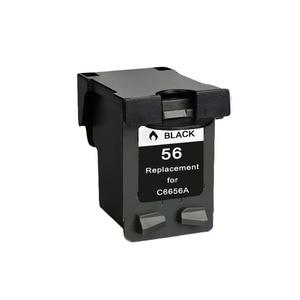 Image 3 - YLC REPUESTOS DE 56XL 57XL Compatible para HP56XL cartuchos de tinta HP56 56XL para HP Deskjet serie 5508, 5510, 5510v 5510xi 5515 C6656A C6657A priter