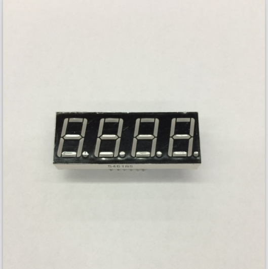 100pc Common Anode/Common Cathode 0.56 Inch Digital Tube 4 Bits Digital Tube Led Display 0.56inches Red Digital Tube