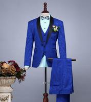 Пиджак мужчины торжественное платье самые последние модели брюк для костюма костюм мужской костюм Homme брюк Брак Свадебные костюмы для мужс