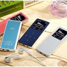 2017 Nouveau professionnel ONN MP3 Bluetooth Lecteur de Musique 8 GB de stockage 1.8 Pouce Écran 50 h Sport MP3 de haute qualité sans perte Enregistreur