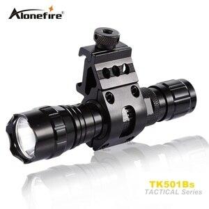 Image 2 - Alonefire lanterna led de 501b 5w, infravermelho ir 850nm, visão noturna, flash luz, para caça
