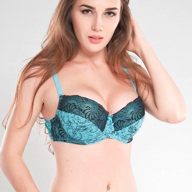 Soutien-gorge plus la taille 42 46 48 50 Push Up Bras Pour Les Femmes 23974c8729d