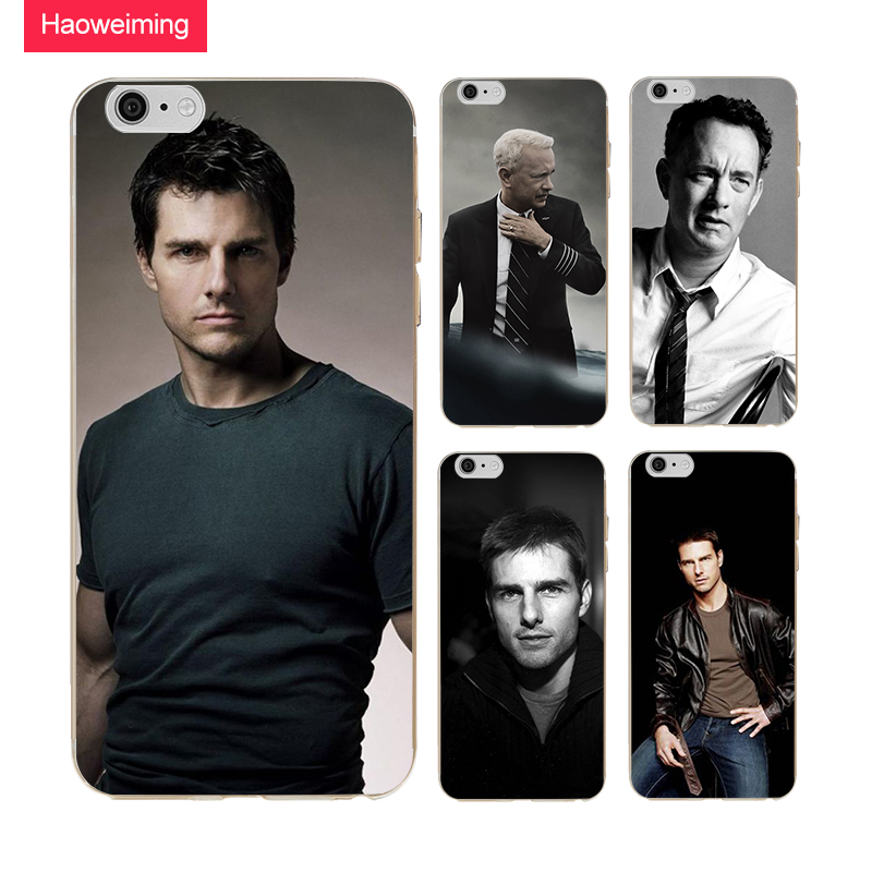 Haoweiming Tom Hanks Slim Silicone Soft TPU Cover Case For iphone X 4 4S 5 5S SE 6 6S 7 8 Plus H482