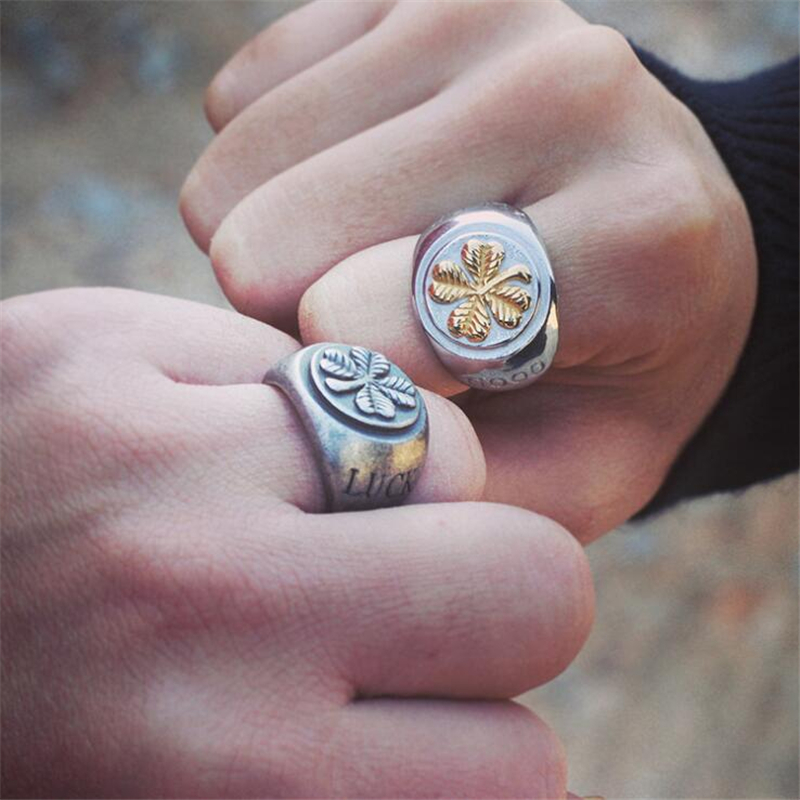img share rings handmade clover the post
