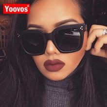 Yoovos 2019 nuevas gafas De sol cuadradas De diseñador De marca Retro espejo gafas De sol De moda Vintage sombras Lunette De Soleil Femme
