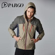 PARGO Outdoor Coats Men Windproof Male 3in1 Softshell Outdoor Hiking Jacket Waterproof Jacket Man Windbreaker For Cycling M6522