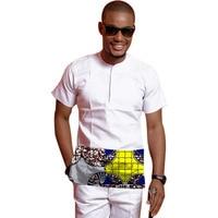 Custom Dashiki Clothes New Pattern Print Men African Shirt Long Sleeve Print Tops Fashion Africa Clothing