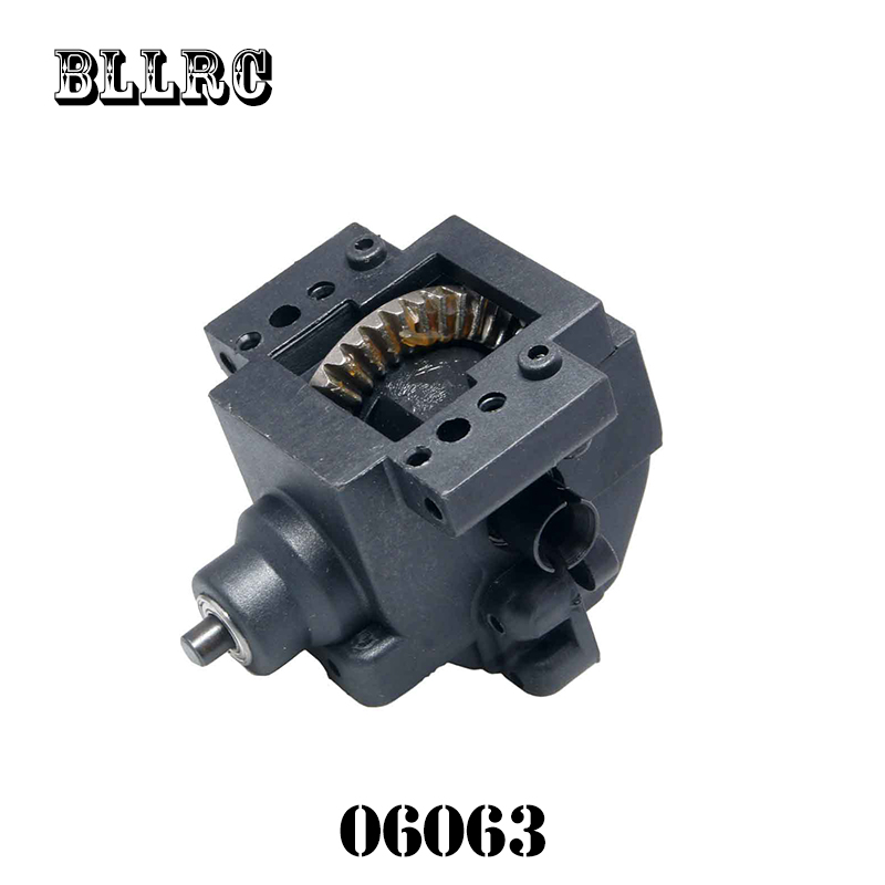 Front Gear Box Complete 06063 HSP Himoto REDCAT Racing Spare Parts For 1/10 RC Model Car 94109 94110 94122 94155 94166 94188 2pcs rc car 1 10 hsp 06053 rear lower suspension arm 2p for 1 10 4wd rc car hsp 94155 94166 94177