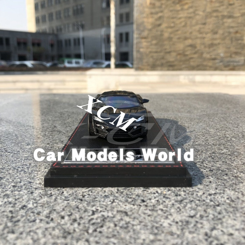 Diecast Car Model for Keng Fai W MOTORS HyperSport 1 43 Black NOTHING OPENS SMALL GIFT