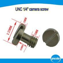 10 pieces camera accessory Sliver 1/4 Screw For Camera Tripod Monopod Quick Release Plate Electronics Accessories
