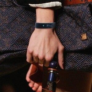 Image 5 - ID115 умный Браслет, счетчик шагов, фитнес SmartBand Вибрационный браслет будильник pk ID107 fit bit miband2 часы с сердцем