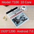10,1 дюймовый планшетный ПК Deca 10 core MTK6797 3g 4G gps Android 7 4 GB 64 gb/128 gb Phablet pc 10 двойная камера 8.0MP 1920*1200 ips экран