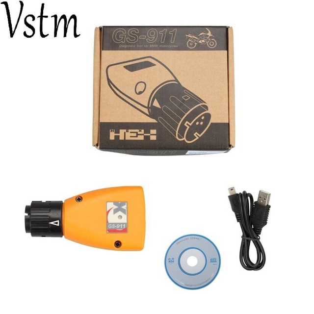 2018 diagnostic-tool GS-911 V1006.3 Emergency Professional Diagnostic Tool For BMW Motorcycles GS911 with facotry price