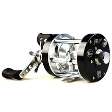 Free Shipping Lure Frogs Snakehead Full Metal Fishing Reel Bait Casting DrumType Reels Left/Right Handed