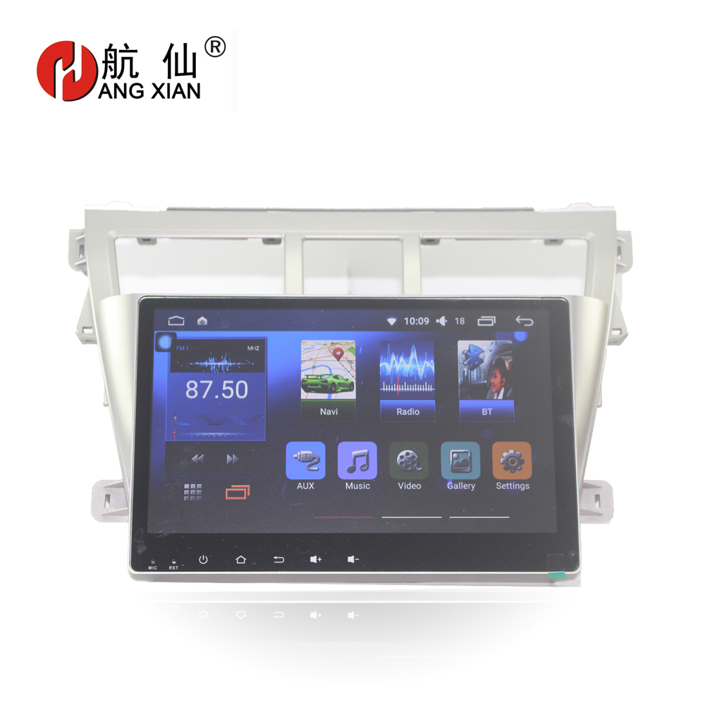Bway 9 Quot Car Radio For Toyota Vios 2009 2010 2011 2012 2013
