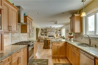 Кухонные шкафы 2017 Лидер продаж индивидуальные твердая древесина Кухонная мебель классические модульные Кухня блок