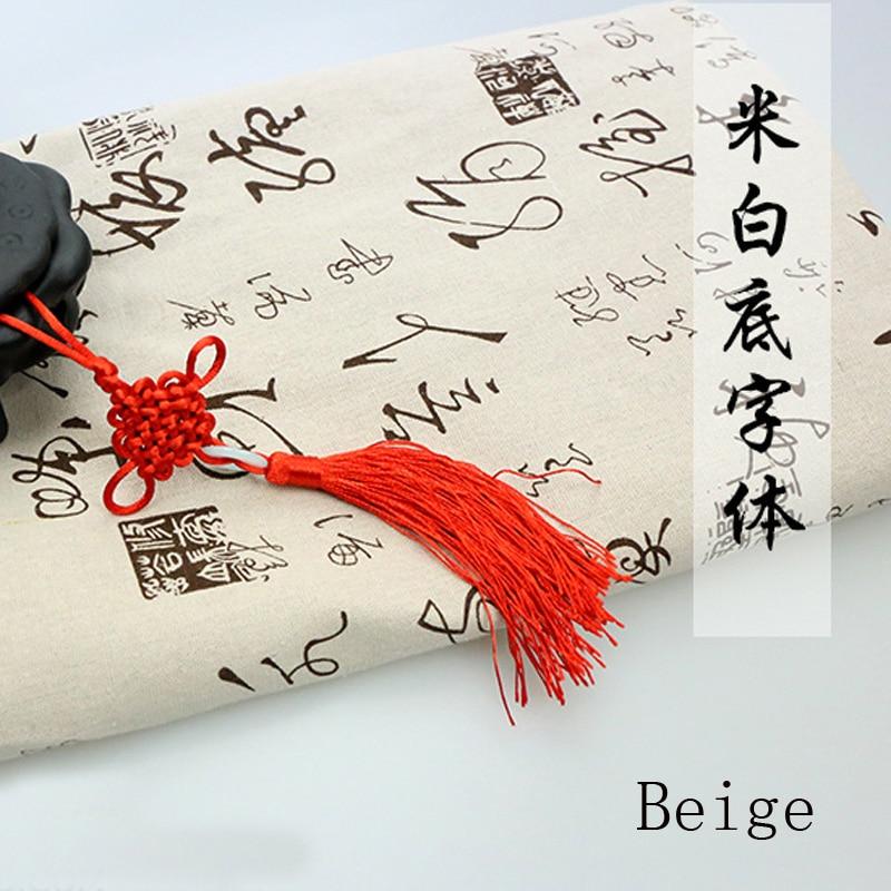 Estilo chino Tinta Líquido Estampado de tela Cortina Paño de tabla - Artes, artesanía y costura - foto 2