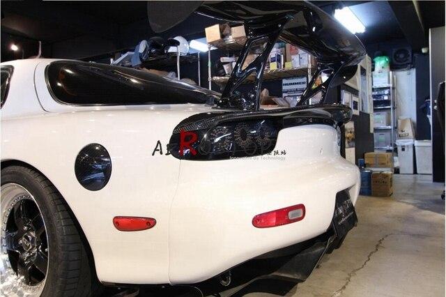 Rx7 Fd3s Csg Car Shop Glow Style Trunk Wing Spoiler Frp Fiber
