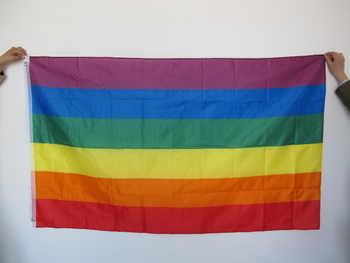 Darmowa wysyłka tęczowa flaga 3x5 Gay Pride flagi pokoju flagi gejowskie lesbijki PRIDE Peace proporczyki flaga - DISCOUNT ITEM  5 OFF All Category