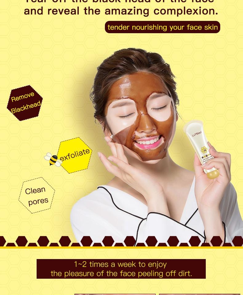 Honey Tearing Blackhead Remover Skincare mask