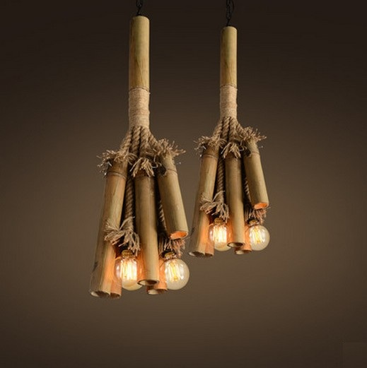 Bamboo Lighting Fixtures PromotionShop for Promotional Bamboo