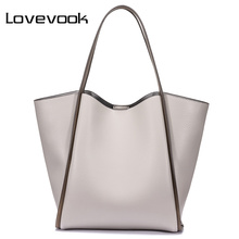 LOVEVOOK bag women big shoulder tote bags female purses and
