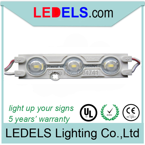 1.2W 120LM led waterproof linear light,powered by Osram 5630 LED, signage led lighting waterproof