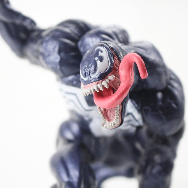 14cm The Amazing Spiderman Venom Superhero Figurine PVC Action Figure Collectible Model Toy For Gift