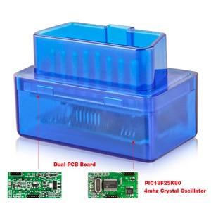 Image 3 - 2019 OBD2 ELM327 Bluetooth V1.5 אוטומטי קוד קורא מתאם ELM 327 1.5 אנדרואיד מומנט אבחון סורק ODB2 עבור רכב אבחון