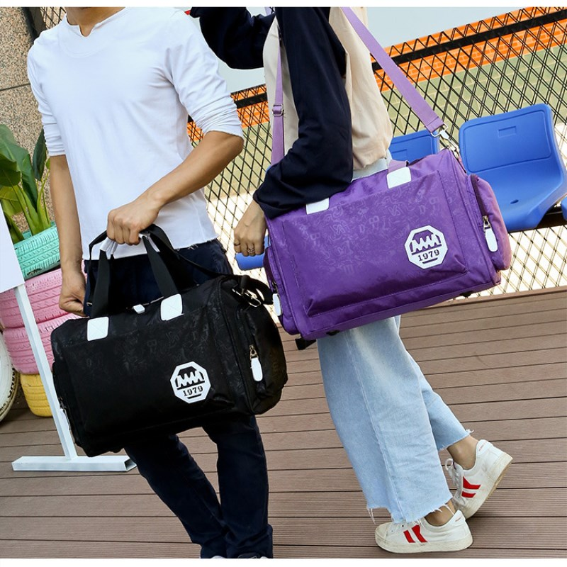 MTG Mens Travel Bags Tote Shoulder Travel Bag Portable Men Handbag Big Weekend Bag Women Waterproof nylon Weekend Bag Overnight