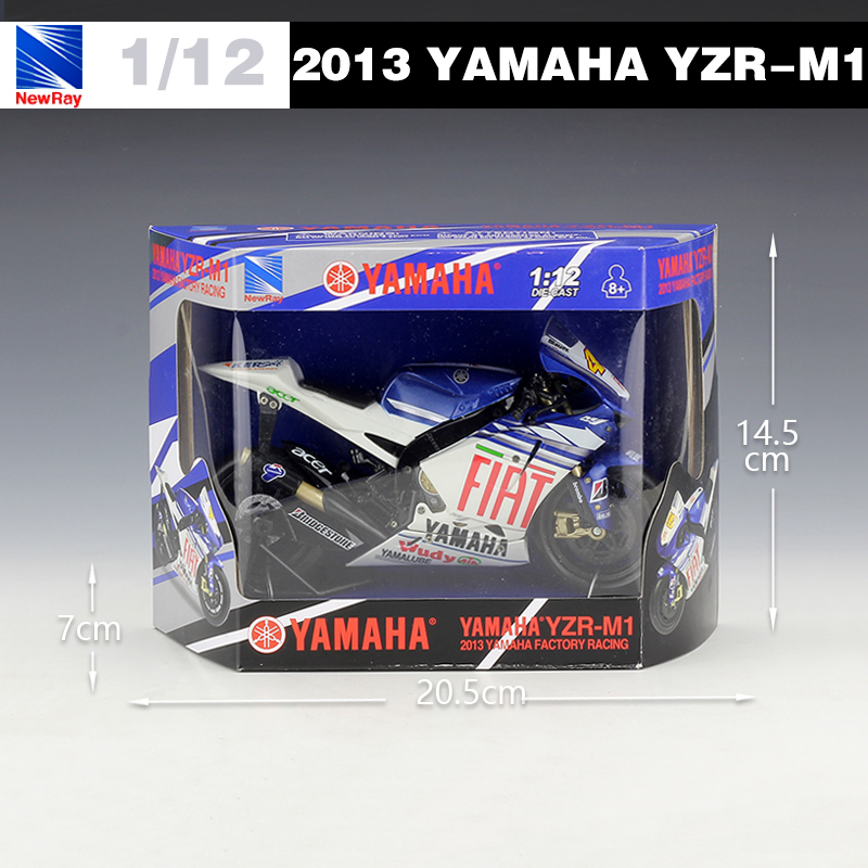 1:12 YAMAHA No.46 Motorcycle Model Valentino ROSSI 2013 Moto GP YZR M1  Diecast Moto For Kids Toys Gifts Collection In Diecasts U0026 Toy Vehicles From  Toys ...