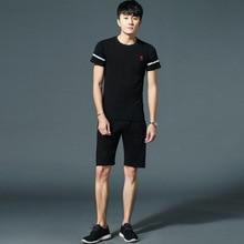 NAD2 в наличии Лето 2019 г. бег простая спортивная одежда рубашка и брюки для девочек человека 2 шт