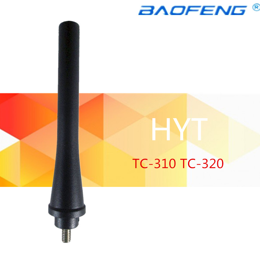 50PCs UHF 450 470MHz Antenna For HYT HYTERA Radios TC 310 TC 320