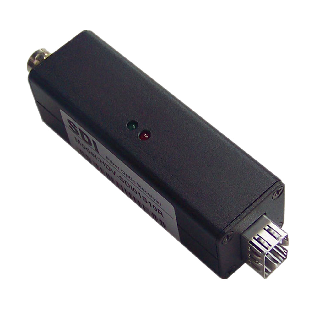 Mini 3G SDI Over Fiber Optical Media Audio Converter 1080P No Loss 3G SDI BNC Fiber Optic Video Transceiver Extender Up to 20km