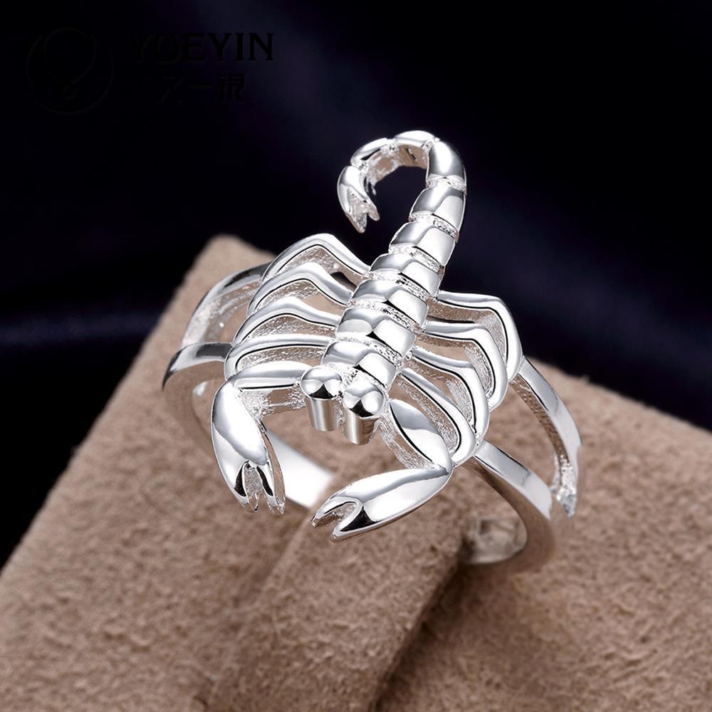 кольцо скорпион