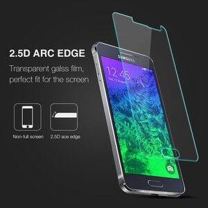 Image 2 - 0.26mm מגן מסך פיצוץ הוכחה על טלפון 2.5D מזג זכוכית סרט לסמסונג גלקסי אלפא G850 G850F G8508 g8508S G8509