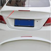 Quality case for Hyundai Verna 2010 2016 rear trunk spoiler wing aero decorative coveraccessories car styling accessories