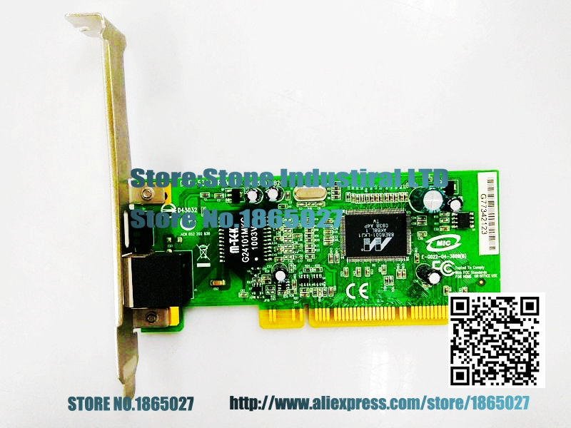 DGE-530T REV-B2 Desktop , IPC PCI Gigabit Ethernet disassemble card 100% test