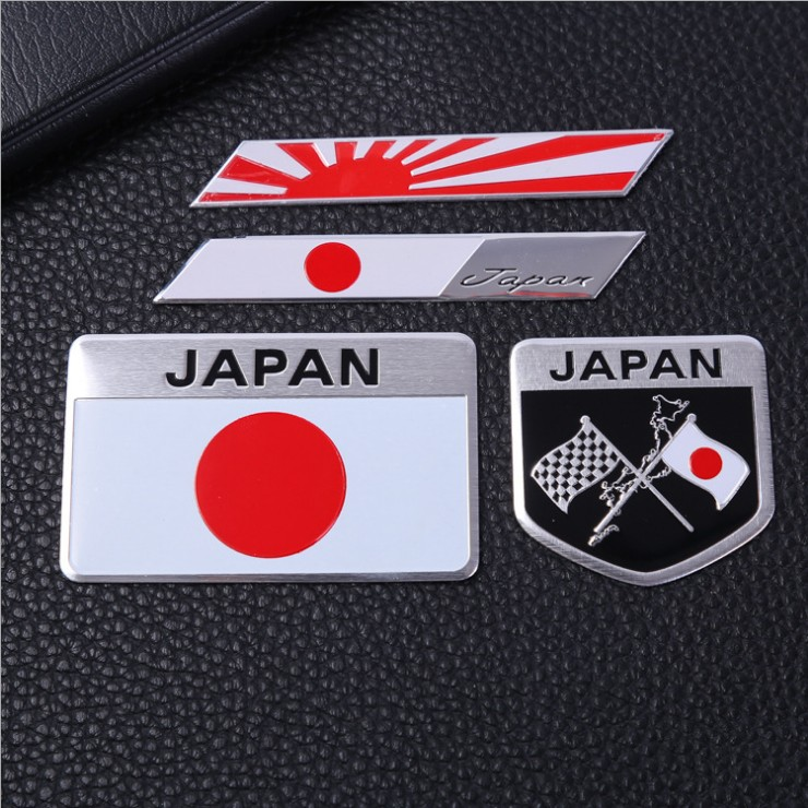 Decals Decorating Flags Accessoires Motors Car-Stickers Emblem-Nihon Yamato Japanese