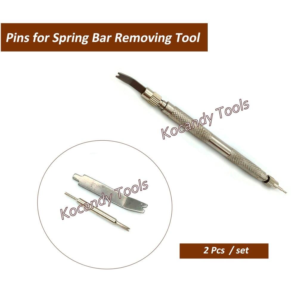 10 Sätze Von Edelstahl Pins Für Uhrenarmband-bügel Frühling Bar Link Entferner Uhr Repair Tool Kostenloser Versand
