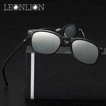 LeonLion 2017 Personal de Diseño Magnético Polarizado gafas de Sol de Los Hombres UV400 Classic Gafas De Sol Gafas Gafas de Metal Para Hombres/Mujeres