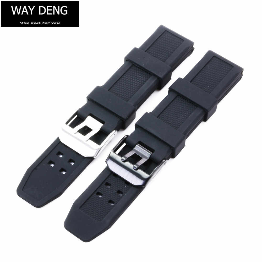 5b5dc5fbca0 Detail Feedback Questions about Way Deng Men Sports Black Silicone ...