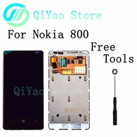 For Nokia Lumia 800 New LCD Display Touch Screen Digitizer Assembly Frame