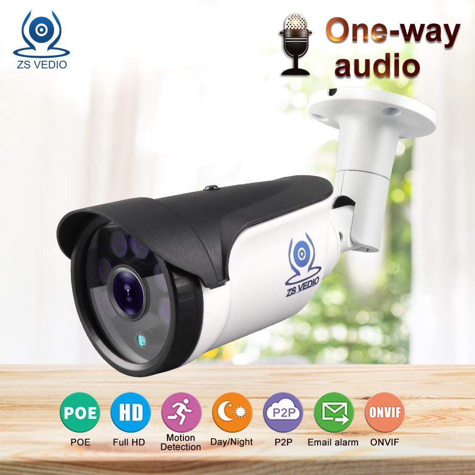 ZSVEDIO Surveillance Cameras ip camera poe security full hd onvif Network Video Record 720P 960P 1080P Bullet video camera ZSVEDIO Surveillance Cameras ip camera poe security full hd onvif Network Video Record 720P 960P 1080P Bullet video camera