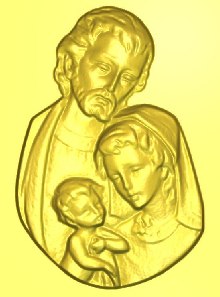 3d model relief  for cnc in STL file format Parents panno hunting 2 for cnc in stl file format 3d model relief