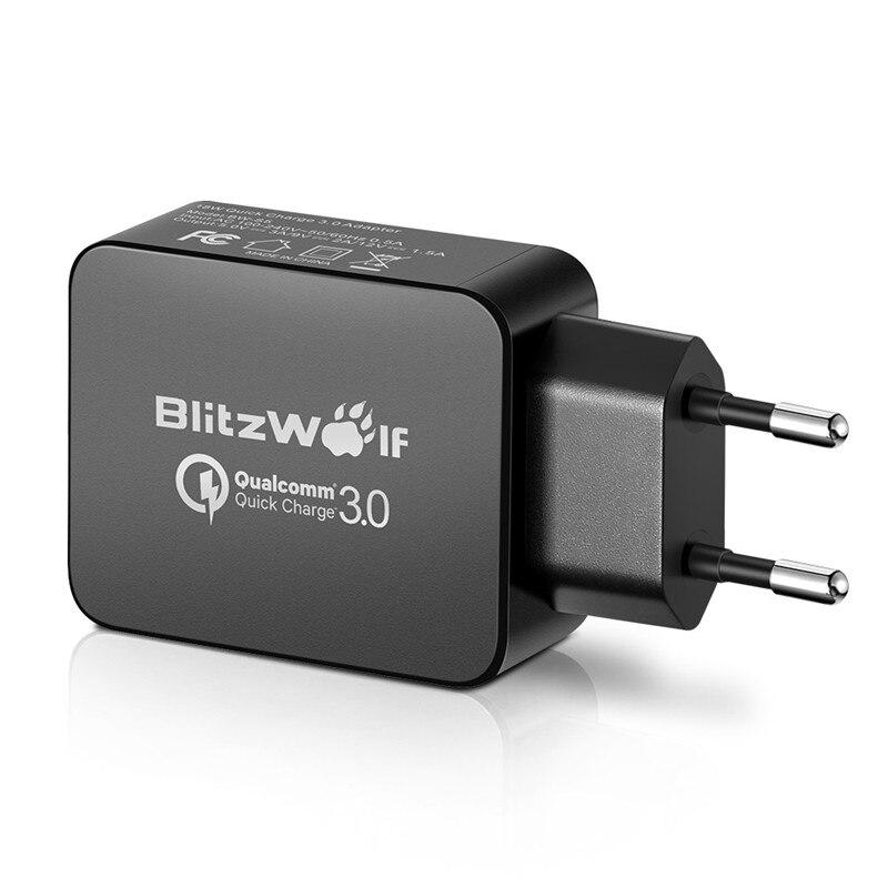 BlitzWolf QC3.0 IPad üçün Samsung Chagers üçün Xiaomi üçün - Cib telefonu aksesuarları və hissələri - Fotoqrafiya 3