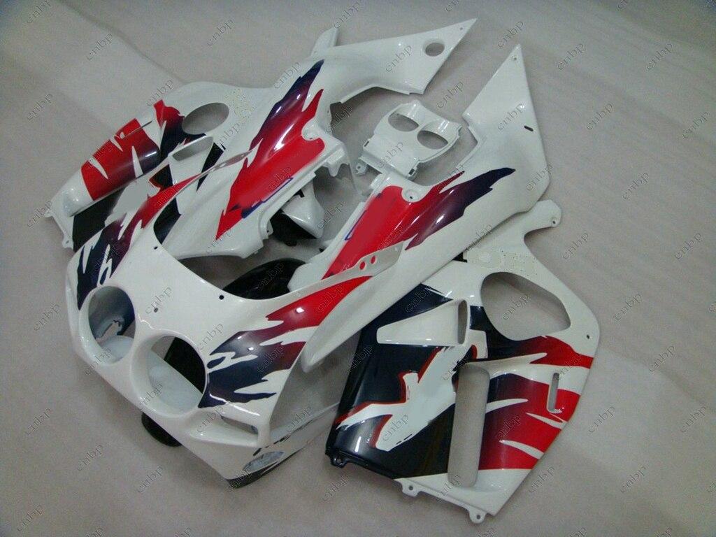 Fairing Kits CBR 250 RR 89 Fairing Kits for Honda Cbr250rr 88 1988 - 1989 NC19 White Red Abs Fairing CBR 250 RR 1988