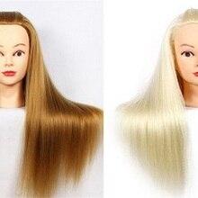 CAMMITEVER 2 шт. блонд и Золотой манекен головы волосы стиль обучение голова кукла-манекен косметологические тренировки головы