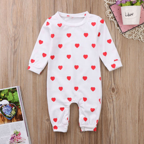 Cute Newborn Baby Boy Girl Kids Romper Clothes Outfit Onepiece