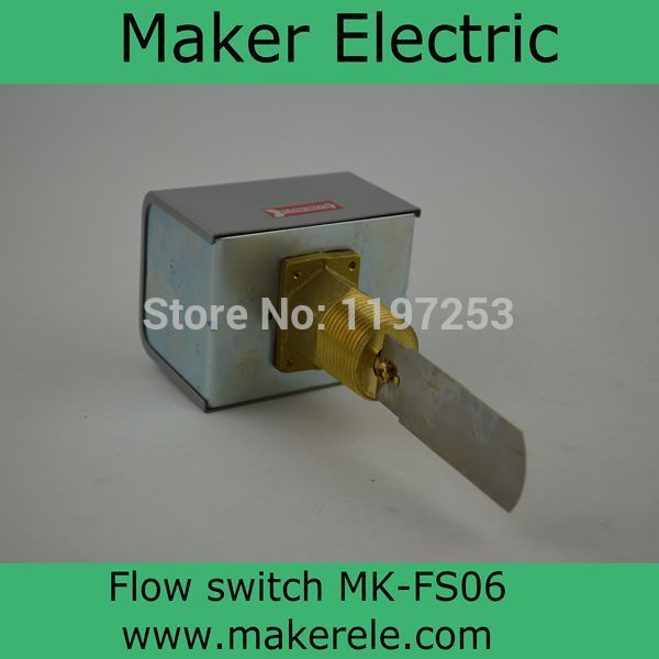 ФОТО Hydraulic Flow Switch MK-FS06 Water Flow Controller Liquid Flow switch,Paddle water Flow Switch